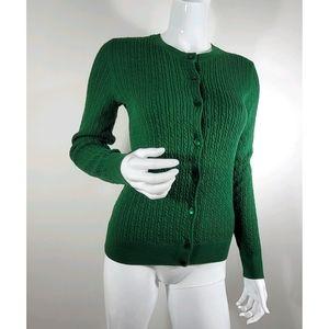 Talbots PimaCottonCable Knit Cardigan BUNDLE&SAVE!